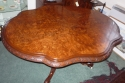 Antique Victorian burr walnut dining table. - picture 2