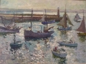 Oil painting of St.Ives by John Anthony Park - picture 2