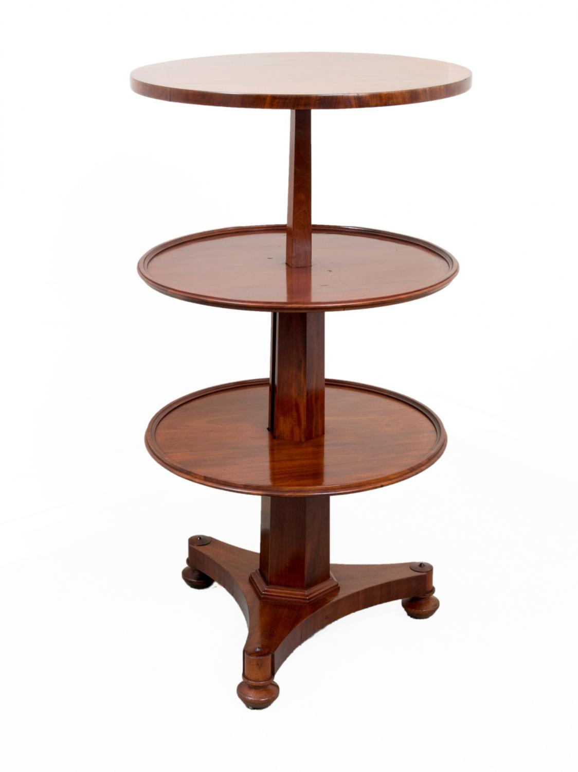 Victorian mahogany dumb waiter circa in sold