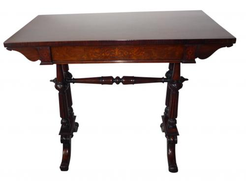 William IV rosewood inlaid table circa 1835