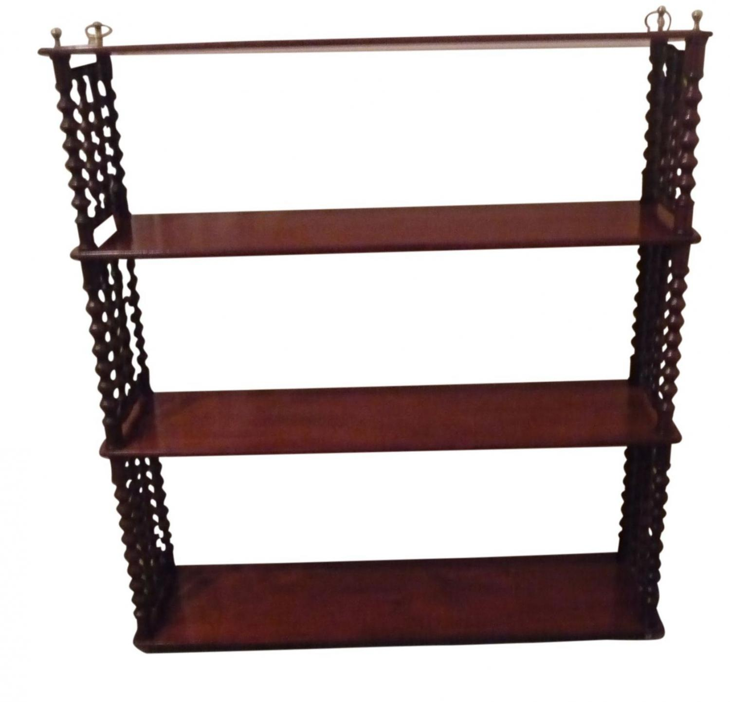 Mahogany wall shelves french circa 1880 in sold mahogany wall shelves french circa 1880 picture 2 amipublicfo Image collections