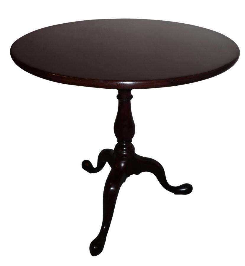 Georgian mahogany tripod table circa 1780
