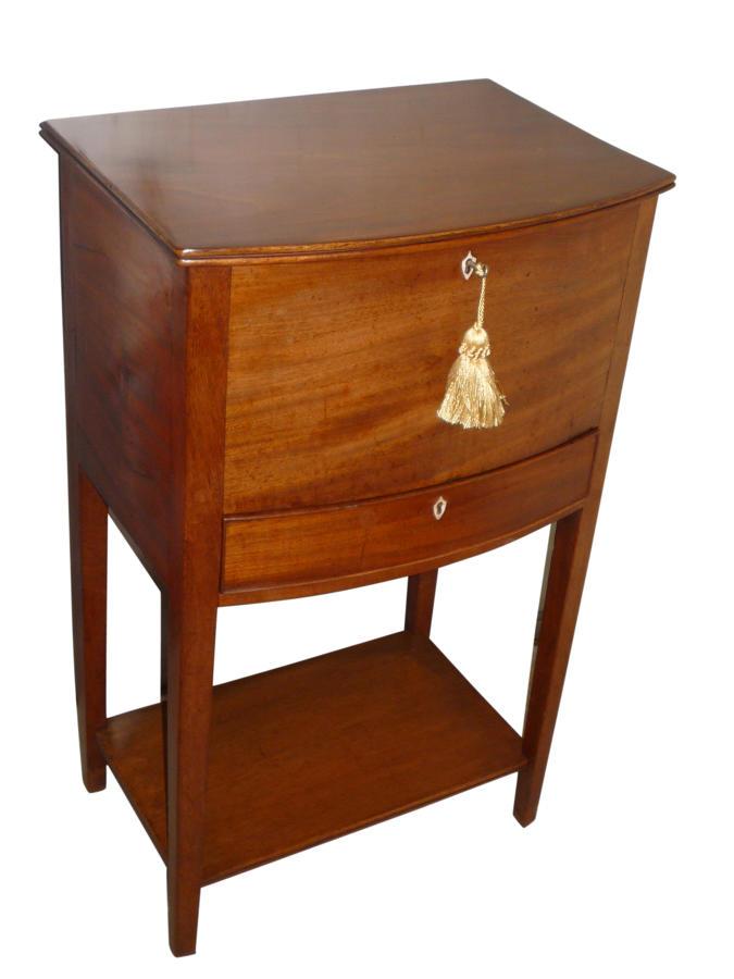 Georgian mahogany work table c1810