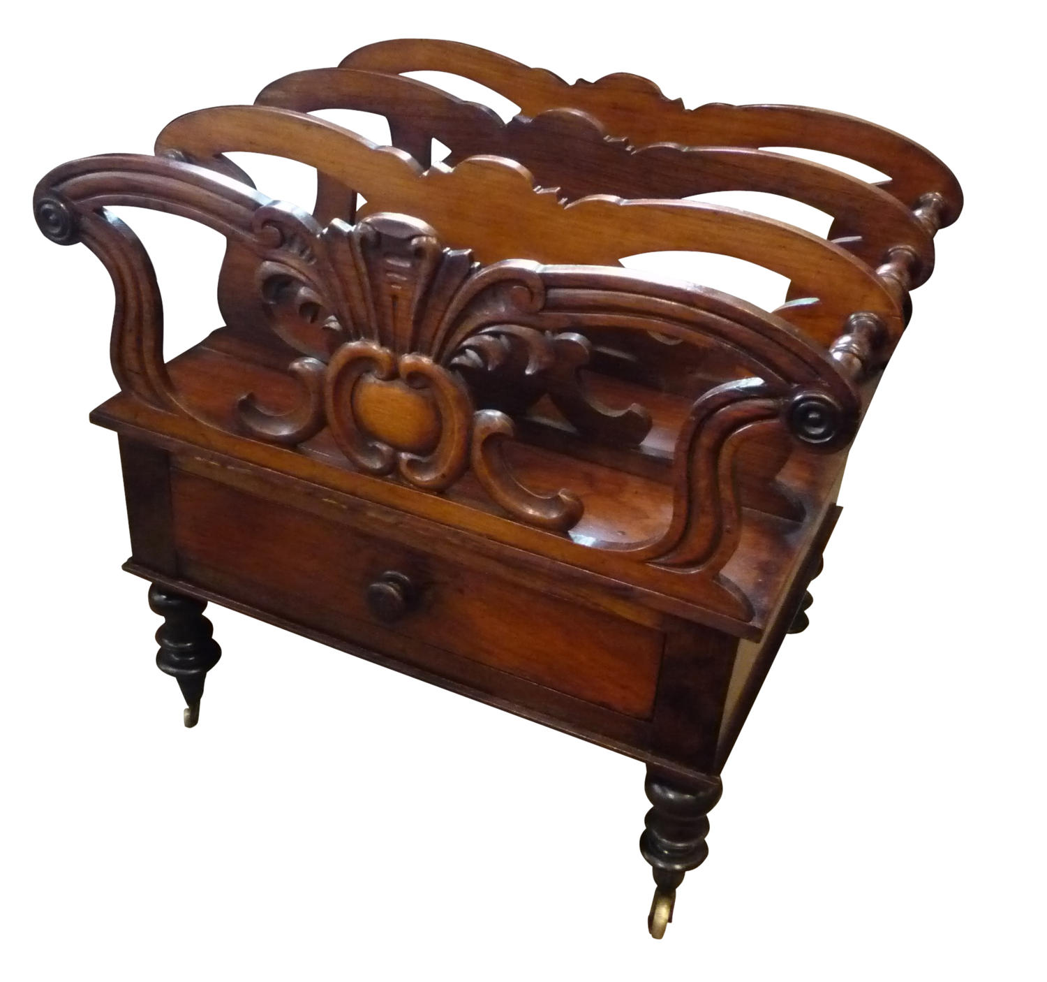 William IV rosewood canterbury circa 1835