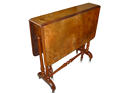 Victorian burr walnut sutherland table circa 1860 - picture 1