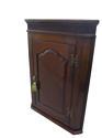 Georgian mahogany hanging corner cupboard c 1775 - picture 1