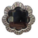 Late Victorian mother of pearl mirror c1890 - picture 1