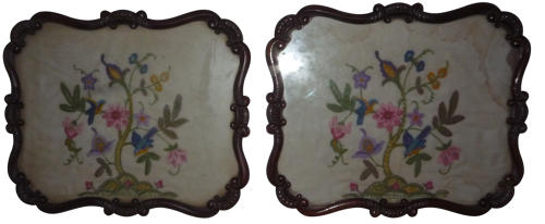 Pair of probably Gillows frames c 1830