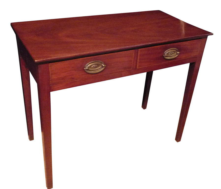 Georgian mahogany side table circa 1810